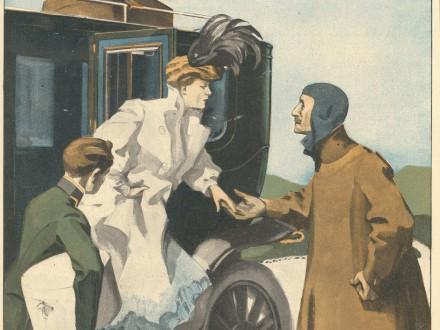 Herkomer Rennen Simplicissimus 10. Juni 1907 12. Jg. Nr. 11 S. 180