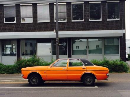 ford orange